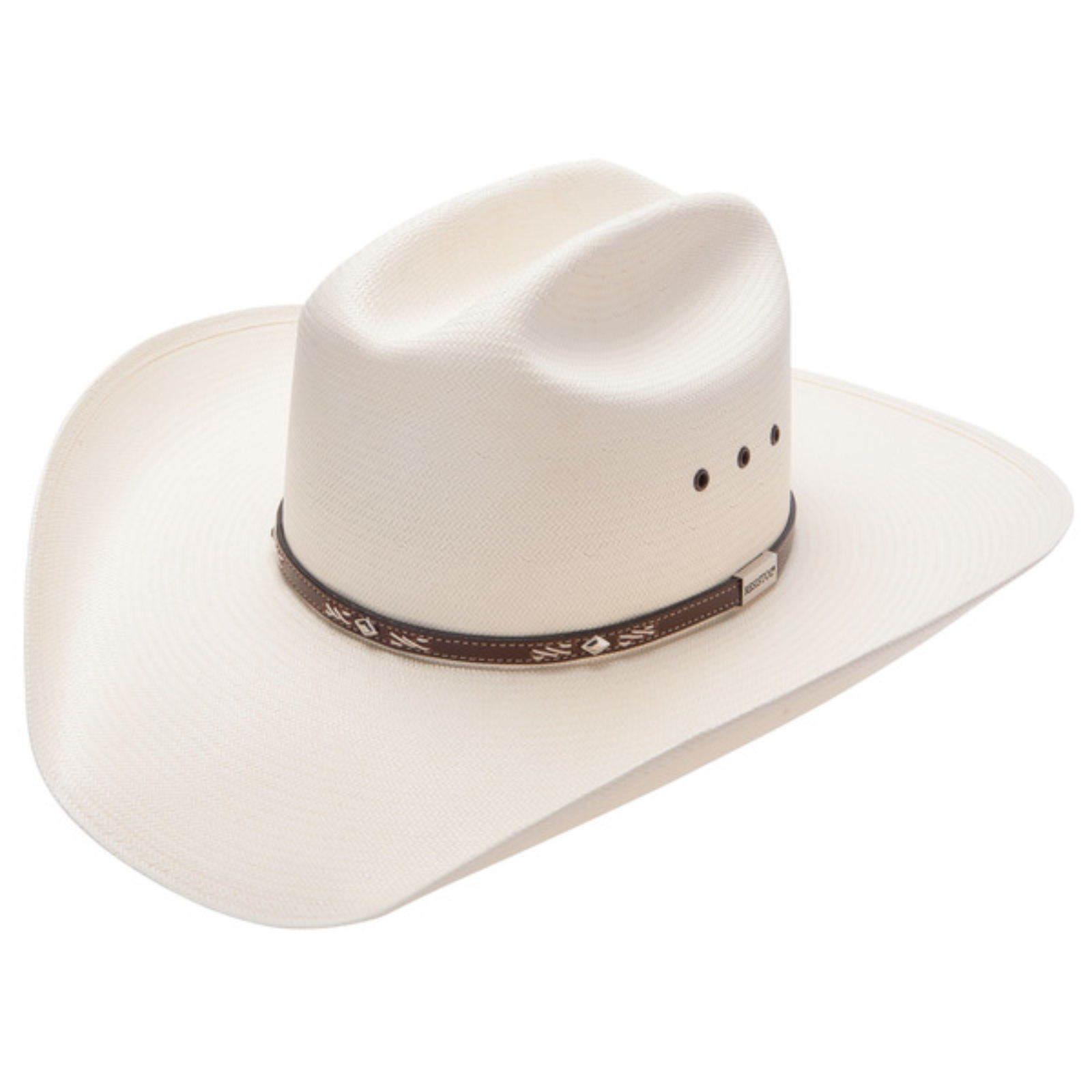 a69760e5 RESISTOL GEORGE STRAIT LAMBERT 10X STRAW COWBOY WESTERN HAT