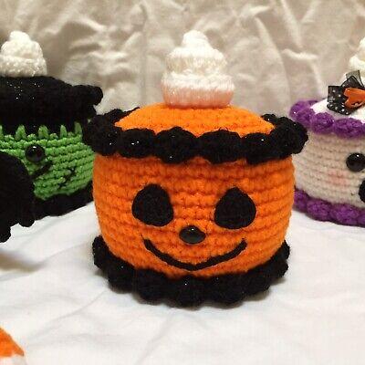 Custom Crochet Order For Ebayer Lilaclady515 , Pumpkin Cake