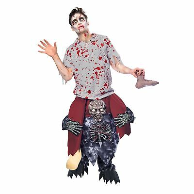A Zombie Costume (Ride A Zombie Costume Piggy Back Halloween Fancy Dress Outfit Adult One)