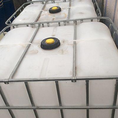 1000 Litre IBC Tank Wash Water Valet, Grasstrack Bike,Window Cleaning, Allotment