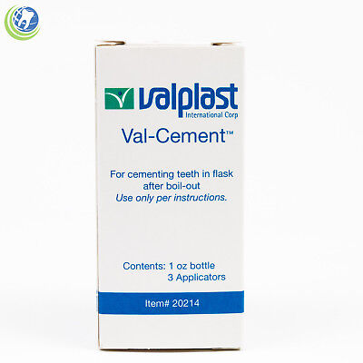 Dental Laboratory Lab Valplast Cement For Cementing Teeth In Flask After Boilout