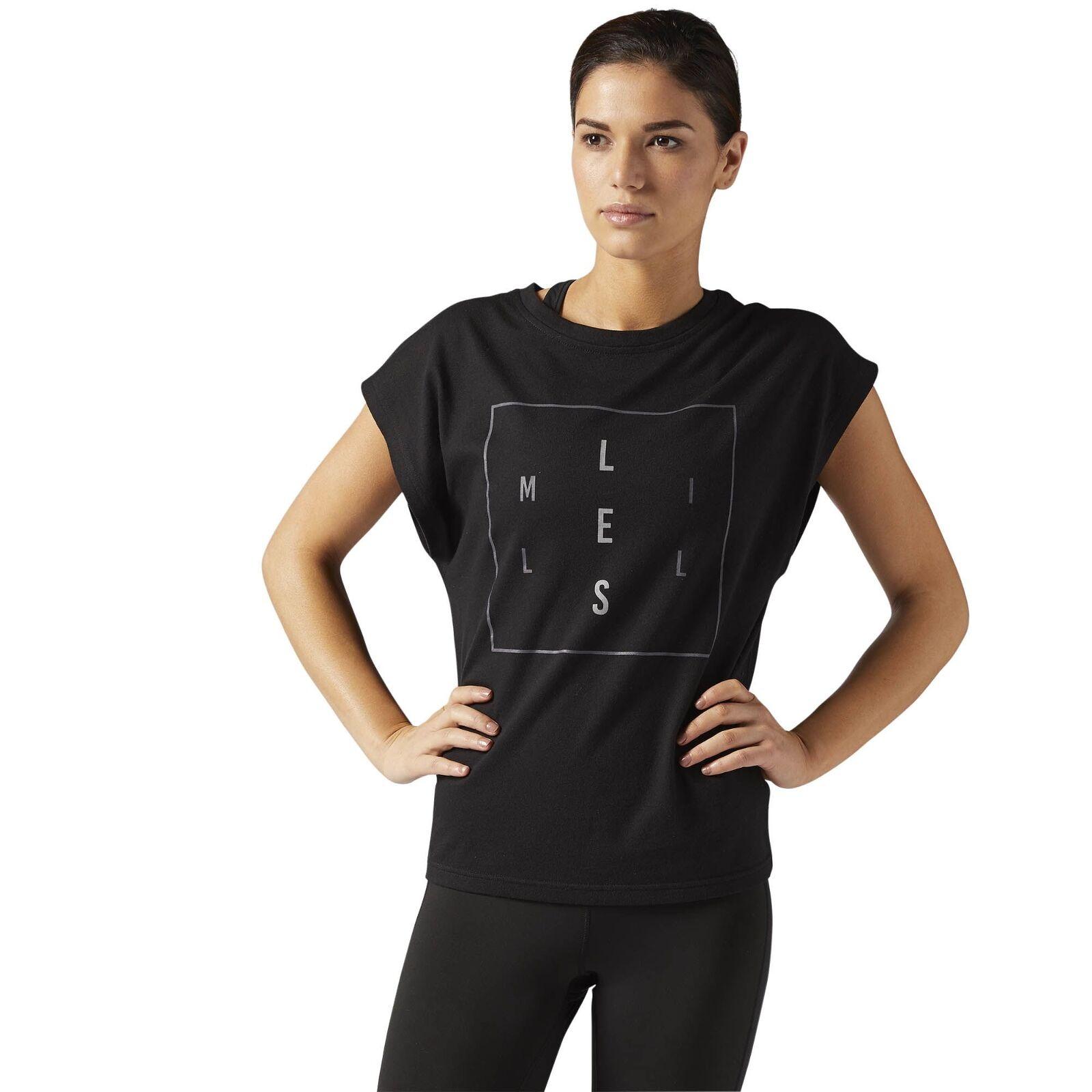 Reebok Lm Tee camiseta de mujer deportiva fitnessshirt entrenamiento