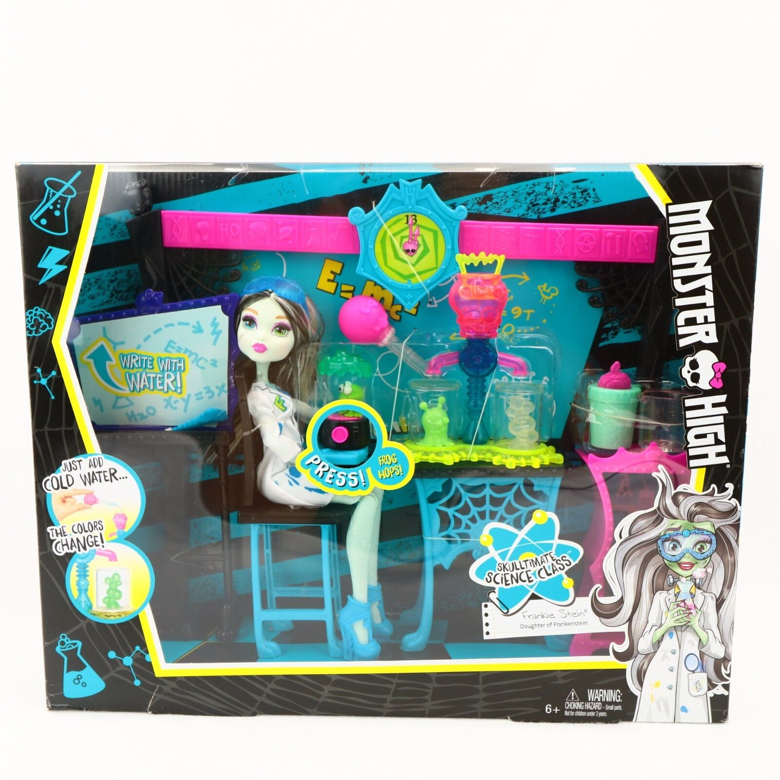 Monster High - Monster High Skulltimate Science Class Playset with Doll