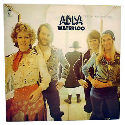ABBA Waterloo 1970s Vinyl LP Album Record 1974 Eurovision Song Contest Winners