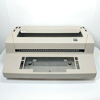 Beige Ibm Correcting Selectric Ii Empty Typewriter Case Body Gutted