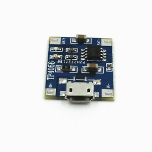 5pcs-TP4056-5V-Micro-USB-1A-Lithium-Battery-Charging-Board-Charger-Module