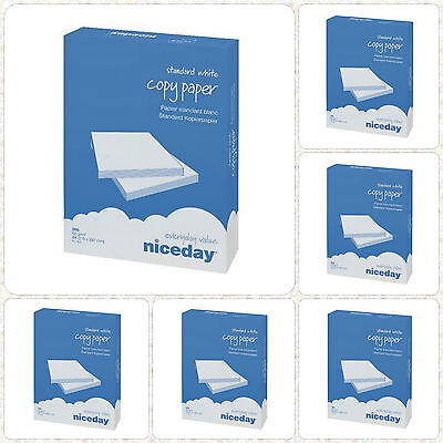 A4 80gsm Photo Copier Printer Printing Office Copy Paper 2500 Sheets5 Ream1box