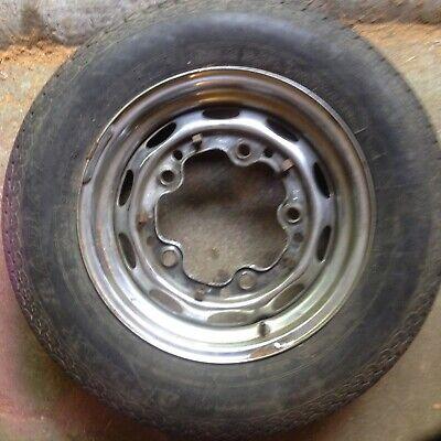 PORSCHE 356 LEMMERTZ WHEEL