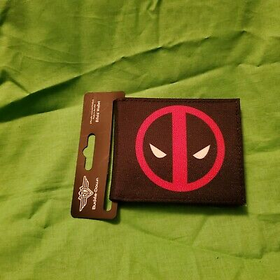 NIB Buckle-Down Men's Bi-fold Wallet - Marvel's Deadpool