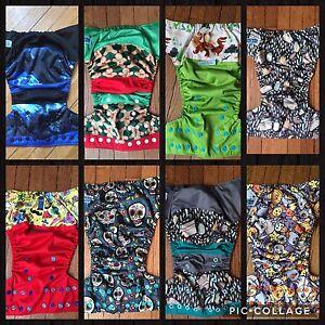 Bella Luna/Ella Bella Bum Cloth Diaper lot