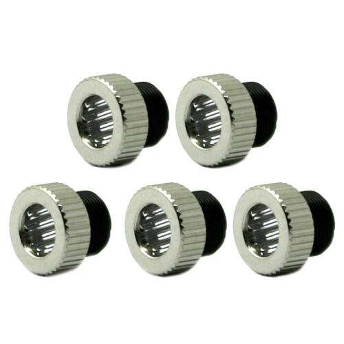 5pcs Line Laser Lens w/200-1100nm P0.5 M9 Collimating Lens 30°/45°/60°/90°/120°