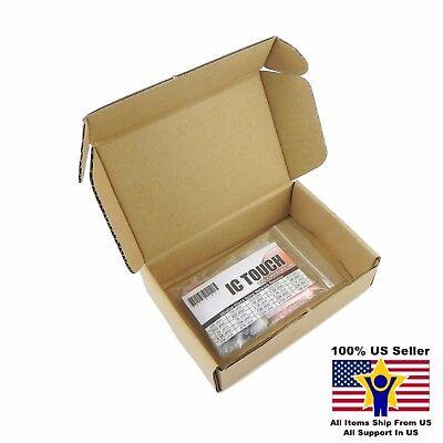 25value 50pcs Resistor Network 5-pin Bus Assortment Kit Us Seller Kitb0163