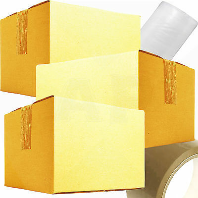 NEW 10 X LARGE Cardboard House Moving Boxes - Removal Packing Storage Box