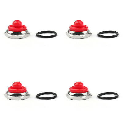 4x Car Toggle Switch Boot 12mm Rubber Waterproof Cover Cap Ip67 T700-6 Red Ua