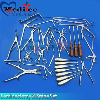Leminectomy Spine Set Surgical Instrumentsby Meditec-instruments