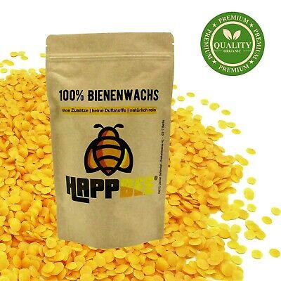 100% reine natürliche Bienenwachs Pastillen aus Deutschland 200g (74,95€/kg)