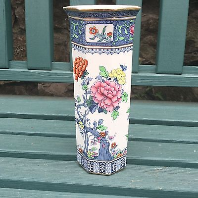 Losol Ware Keeling And Co Ltd Chusan Vase, English Staffordshire Antique Vase