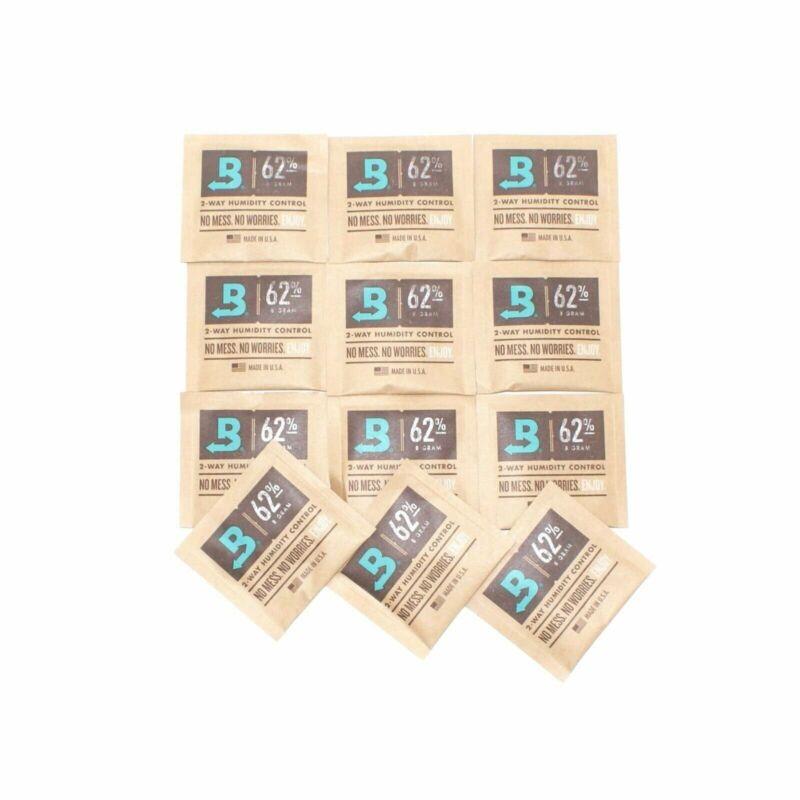 Boveda Medium 8 Gram Humidipak 62% - 12 Pack- Authentic - Fresh - Fast Shipping
