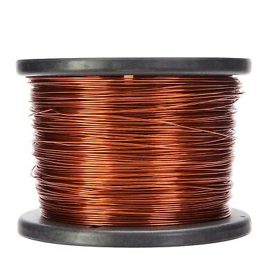16 Awg Gauge Enameled Copper Magnet Wire 10 Lbs 1252 Length 0.0535 200c Nat