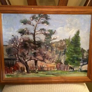 Assorted oil paintings - vintage