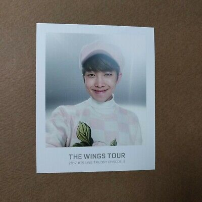 [Official] The Wings Tour Trilogy Ticket Polaroid Photocard [RM]