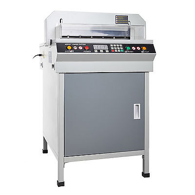 """450MM 18"""" ELECTRIC PAPER CUTTER LOWER NOISE NUMERICAL18 INCH HIGH LEVEL NEW"""