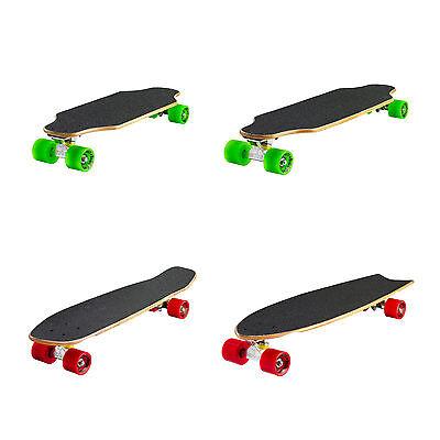 Ridge Skateboards Naturale Mini Longboard Cruiser Skateboard Legna ABEC 7