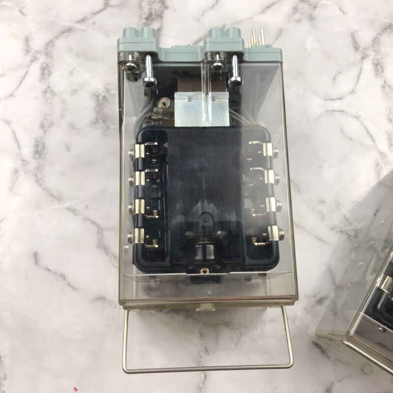 Relay Auxiliary ABB 115 Volt RXMH 2 RK 223 069-EA Tested Working 15-60 HZ