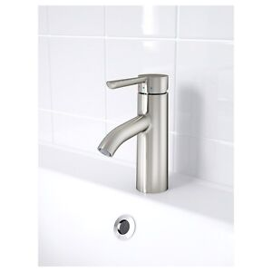[Brand New]IKEA DALSKÄR Bathroom faucet, brushed stainless steel