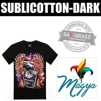 New Sublicotton-dark Heat Transfer Paper 10 Sh 8.5x11 Made In Usa