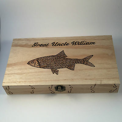 Personalized Tackle Box (Fishing Float Box  Personalised gifts)