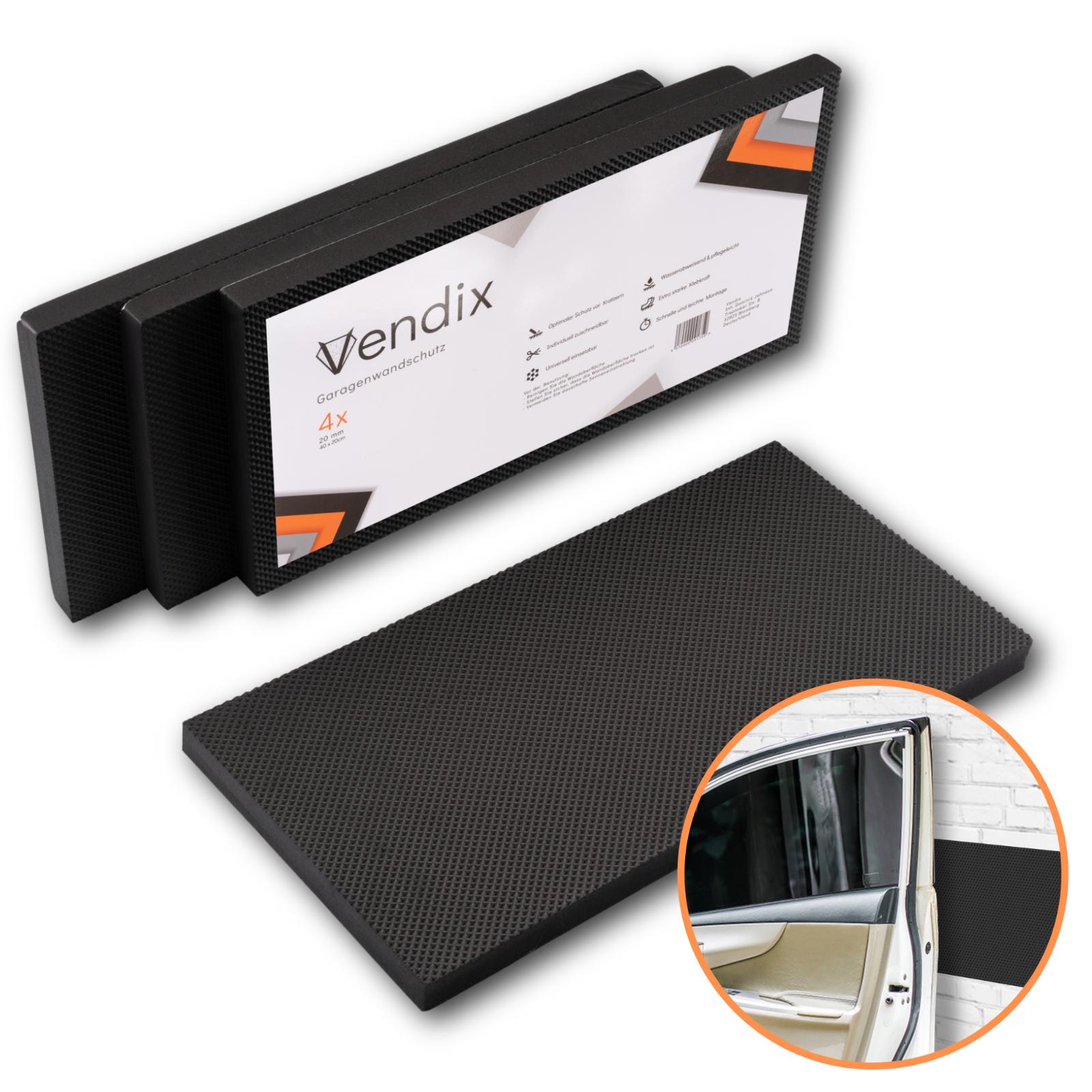 Garagen-Wandschutz selbstklebend - EXTRA DICK - optimaler Auto Türkantenschutz