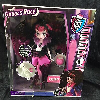 Monster High Ghouls Rule Draculaura Doll Brand New Sealed NIB Halloween 2012](Monster High Ghouls Rule Halloween Dolls)