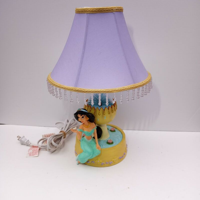 Hampton Bay Princess Jasmine Lamp From Disney's Aladdin Read Description