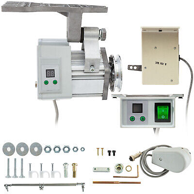 Vevor Vr-400 Brushless Sewing Machine Servo Motor W Needle Positioner 400 Watts