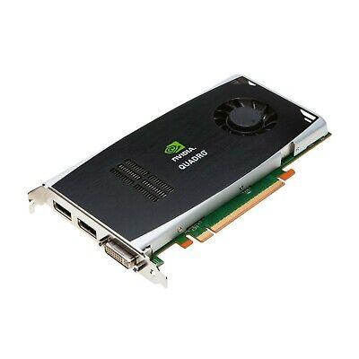 NVIDIA Quadro FX 1800 Grafikkarte GDDR3 PCIe CUDA Dual DisplayPort DL DVI-I 768M - Gddr3 Pcie Grafikkarte