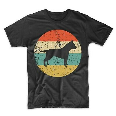 American Staffordshire Terrier Shirt - Retro Amstaff Men's T-Shirt - Dog Shirt