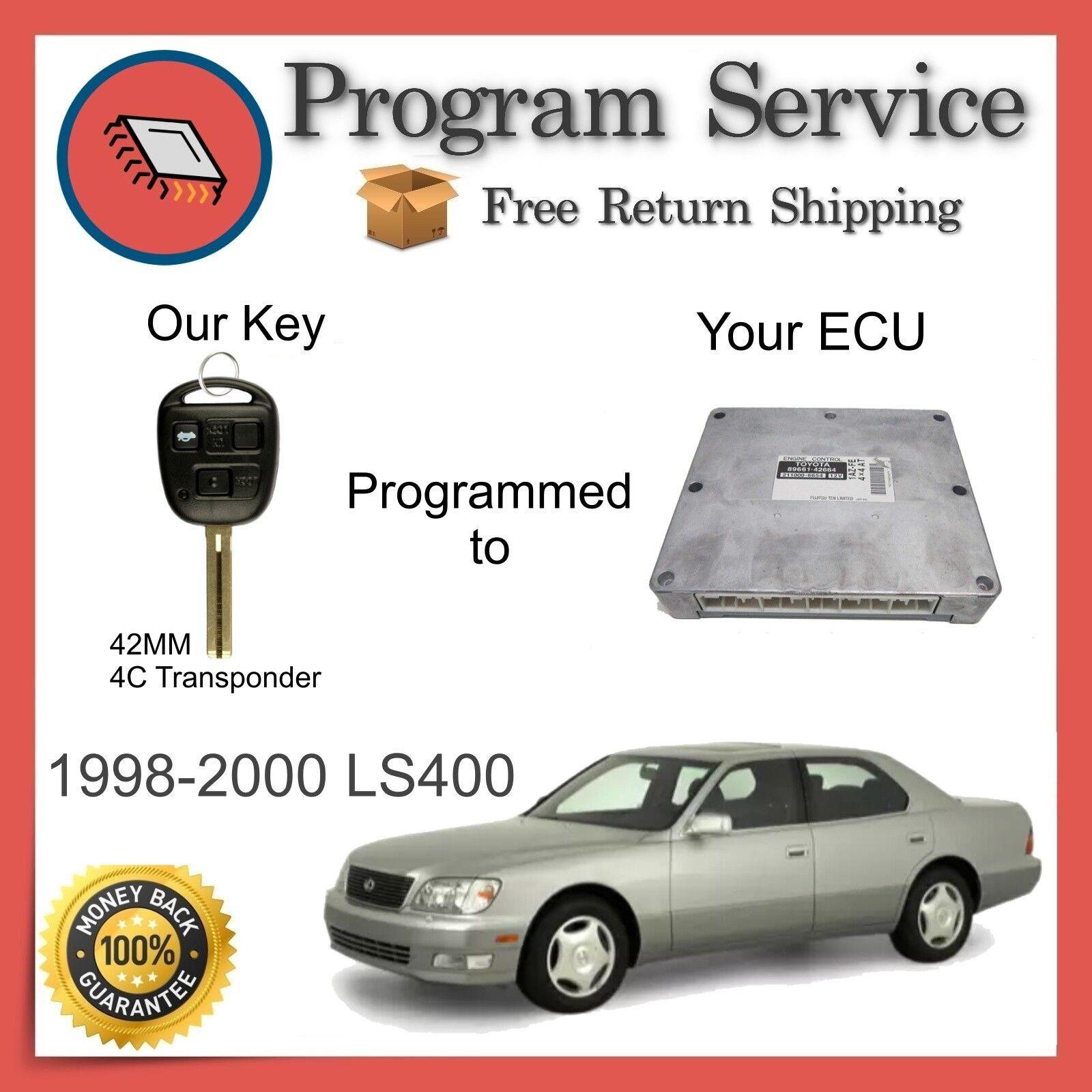✅ ECU BCM ECM Computer KEY PROGRAM SERVICE | Lexus LS400 1998 1999 2000 98 99 00