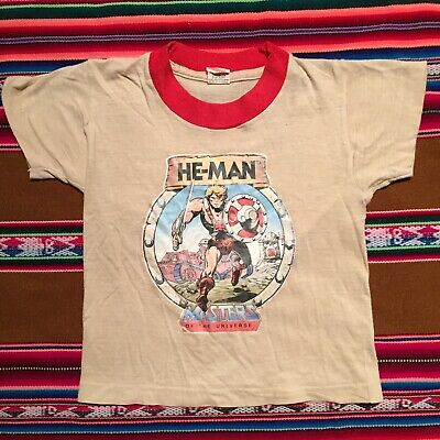 80s Tops, Shirts, T-shirts, Blouse   90s T-shirts Vintage 1980s He-Man Masters Universe T Shirt Size Small 2-4 Toddler USA Made $50.00 AT vintagedancer.com