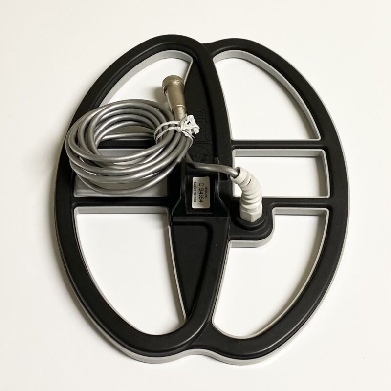 """Tesoro Electronics 11x8"""" RSD Widescan 4-pin Search Coil with Coil Cover"""