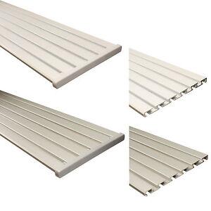 aluminium gardinenschiene vorhangschiene fl chenvorhangschiene 5 oder 6 l ufig ebay. Black Bedroom Furniture Sets. Home Design Ideas