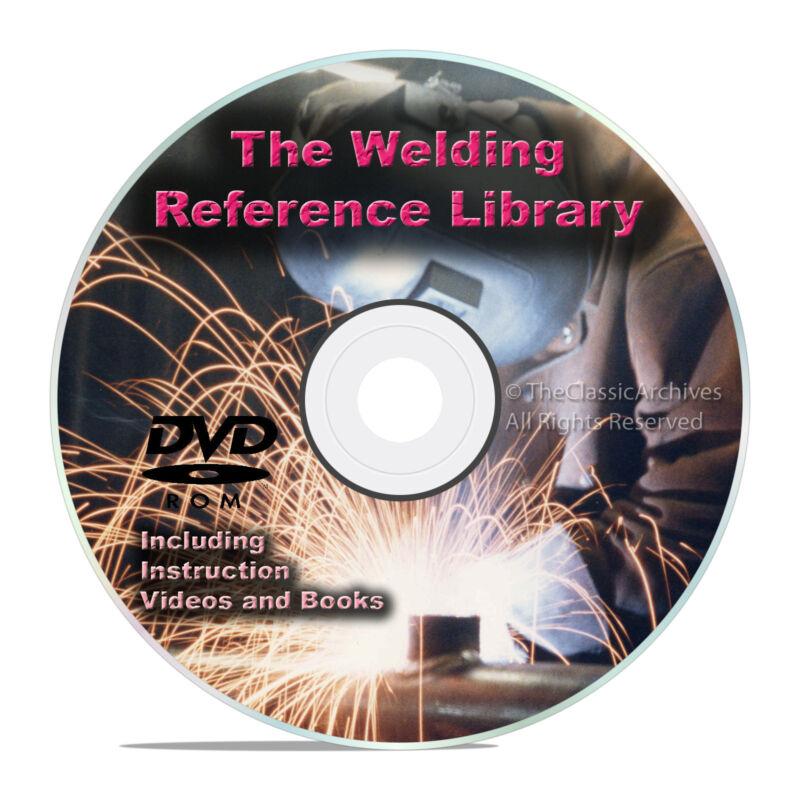 Welding Reference Guides DVD, Stick, TIG, MIG, Oxyacetylene Plasma Cutting V25