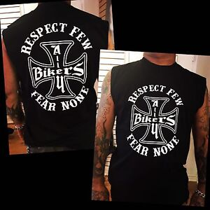Respect Few Fear None Shirts & Tank Top