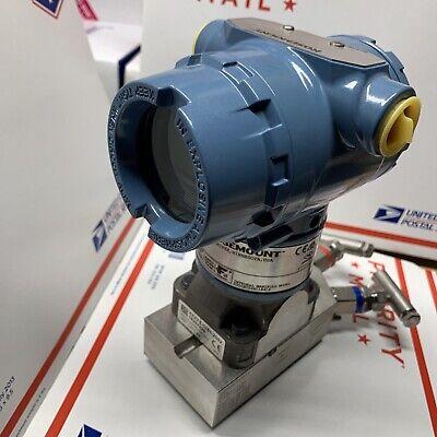 New Rosemount 3051 Cg 5a 02a1am5e5s5 Hart Pressure Transmitter 0-2000 Psi