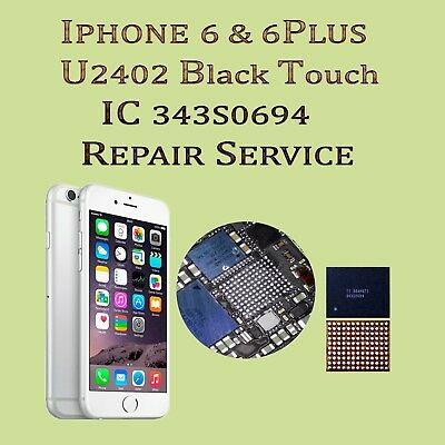 iPhone 6 Plus 6+ Touch IC Repair Service - No Touch - Gray Bars