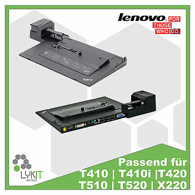 Lenovo Dockingstation Thinkpad 4337 | T410 | T420 | T430 | T520 | T530 | X220