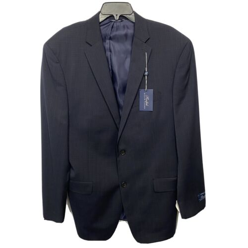Ralph Lauren Mens Athletic Fit Suit Jacket Sport Coat 44 44L Navy Blue NWT Clothing, Shoes & Accessories