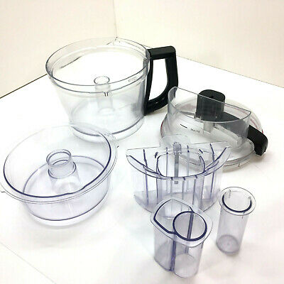 Kitchenaid KFP1333 13 Cup Food Processor Work Bowl Lid and Pusher Original Parts