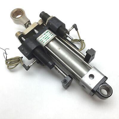 Gripping Cylinder Assembly For Komax 40t Crimper Stripper Machine W Sensors