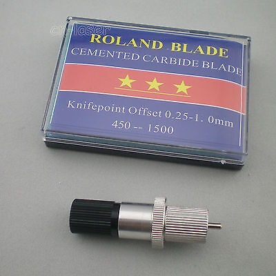 1pc Hq Roland Blade Holder 5pcs 60 Roland Blade Vinyl Cutter Cutting Plotter